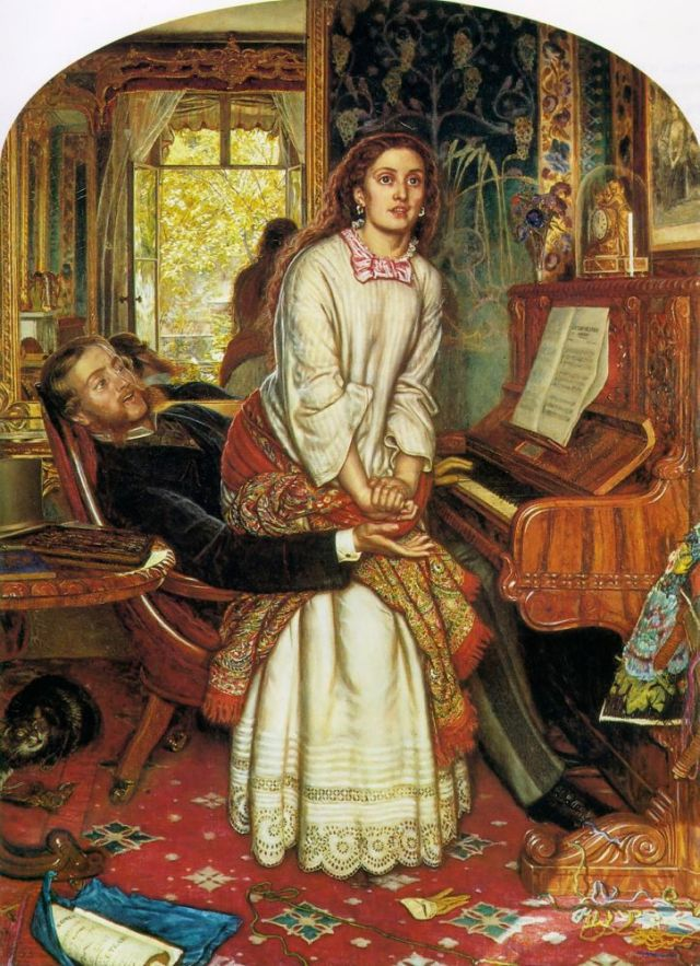 The awakening conscience (Holman Hunt)